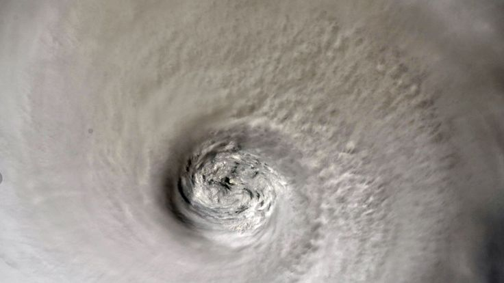 Hurricane Dorian as seen from the International Space Station. Pic: ISS