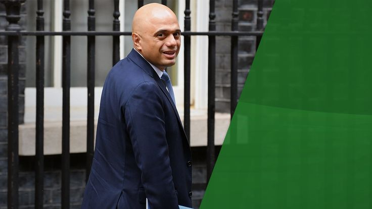 Sajid Javid is talking about the end of austerity