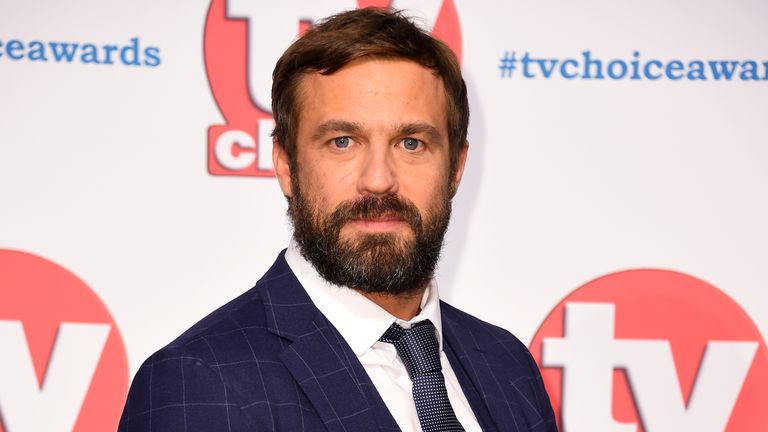 Jamie Lomas attending the TV Choice Awards held at the Hilton Hotel, Park Lane, London.