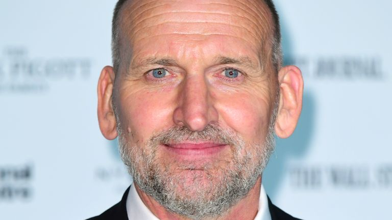 Christopher Eccleston attending the Up Next Gala held at the National Theatre, South Bank, London.