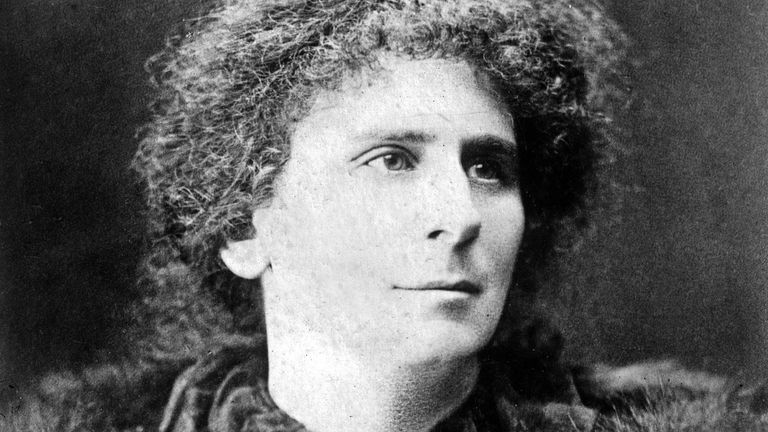 Hertha Ayrton (1854-1923) english physicist (electricity) c. 1910. (Photo by APIC/Getty Images)