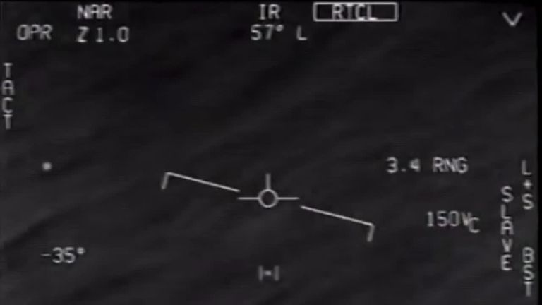 Leaked classified 'UFO footage' is real, US Navy confirms