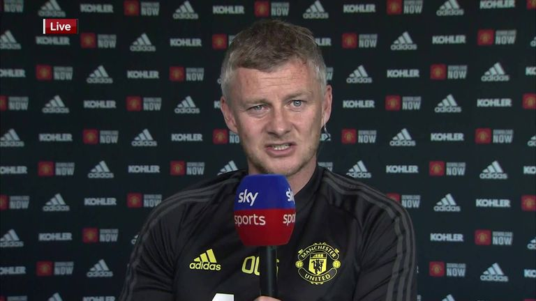 Ole Gunnar Solskjaer says he is determined to give Premier League chances to his young players