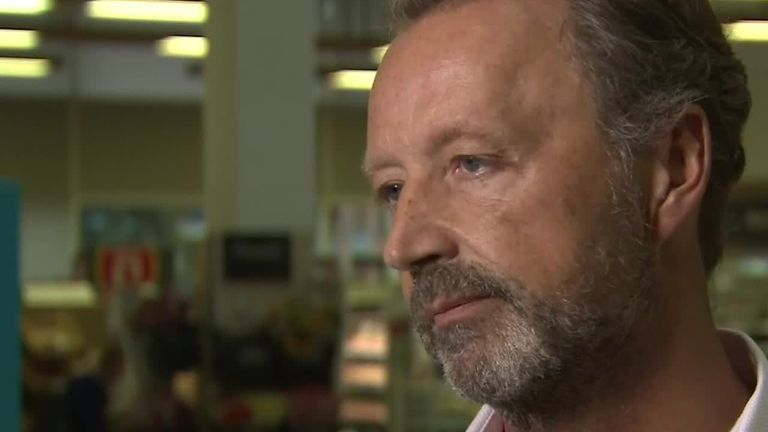 Steve Murrells, chief executive of the Co-operative group said 'some gaps' on shelves may occur in the event of a no-deal Brexit
