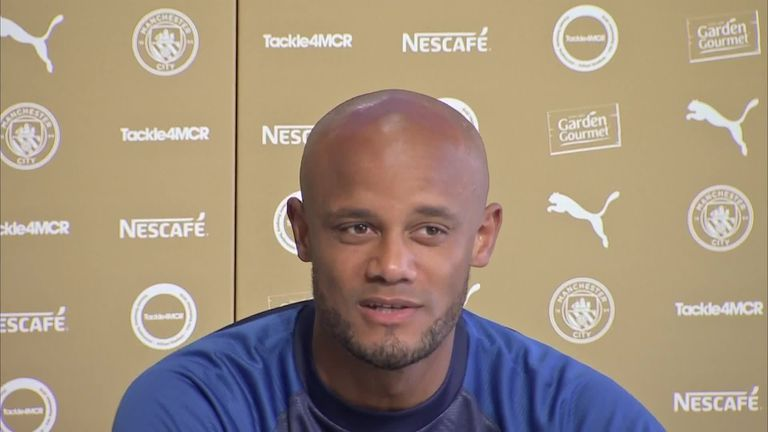 Anderlecht player-manager Kompany admits he could've quit Man City for bigger clubs