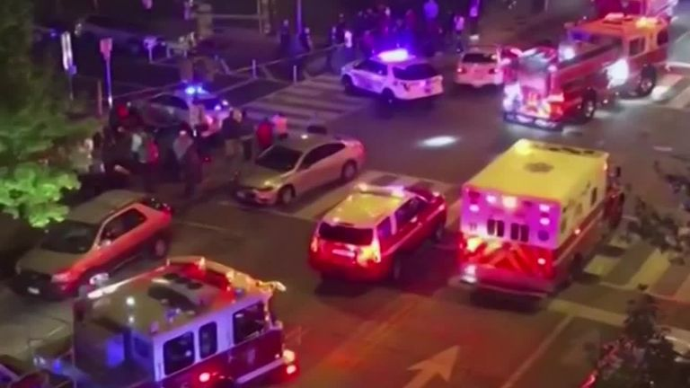 Six people shot in US capital