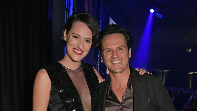 Fleabag stars Phoebe Waller-Bridge and Andrew Scott were reunited at the British GQ Men of the Year Awards
