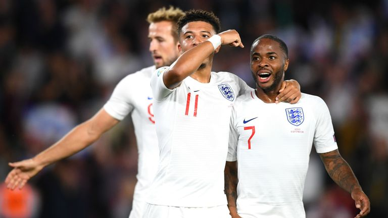 Highlights of England's European Qualifying Group A match against Kosovo