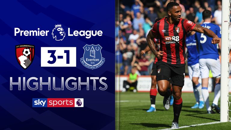 Bournemouth's Callum Wilson fires double to sink lacklustre Everton