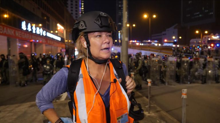 'Willing to pay the price': Hong Kong rally descends into violence