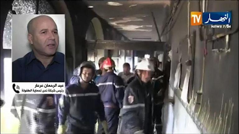 Eight newborns were killed in the fire