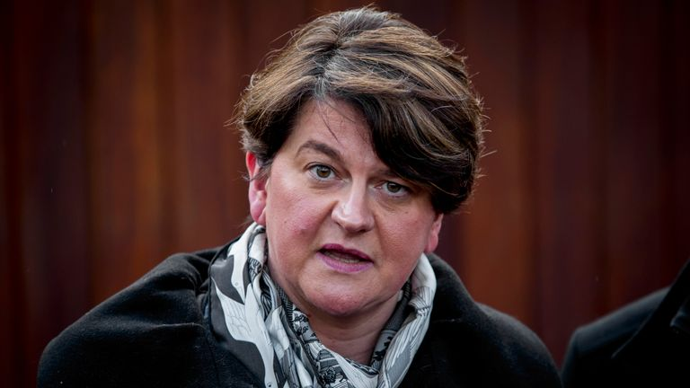 Arlene Foster could have trouble uniting her party