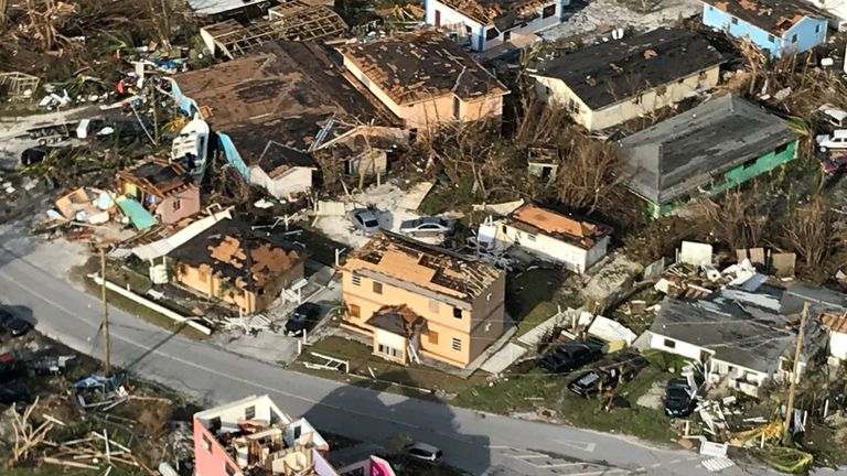 Great Abaco Island bore the brunt of Hurricane Dorian