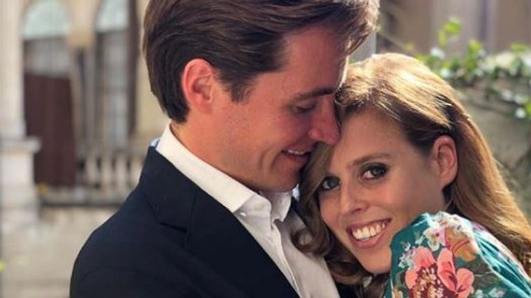 Princess Eugenie said her sister's engagement had been a long time coming
