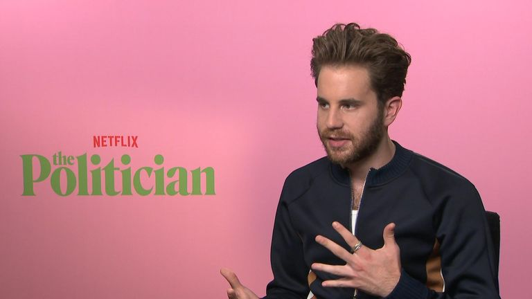 Platt speaks about his onscreen character Payton Hobart to Sky News