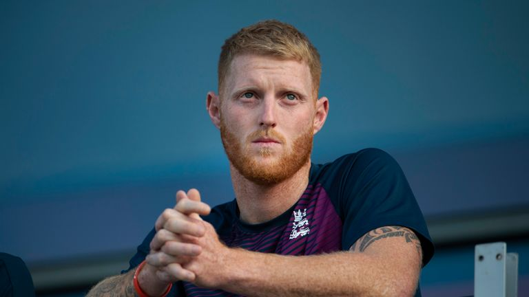 Ben Stokes published a statement on Twitter
