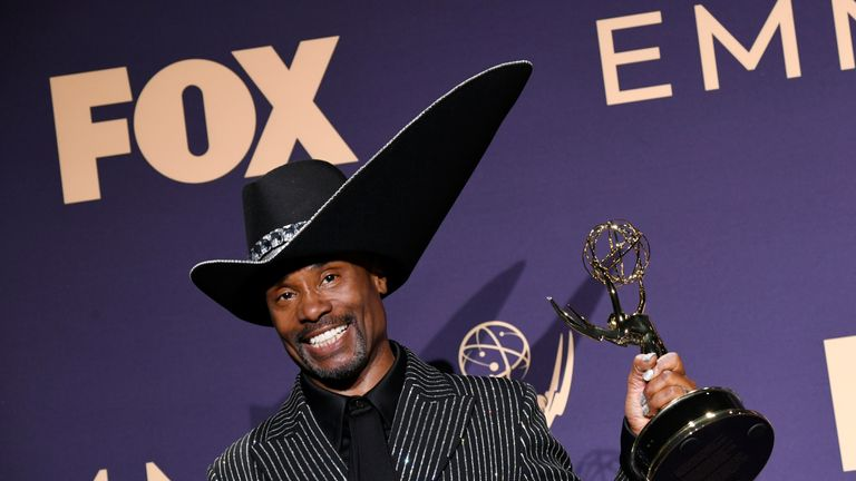 Billy Porter won the best actor in a drama series Emmy for his role in Pose