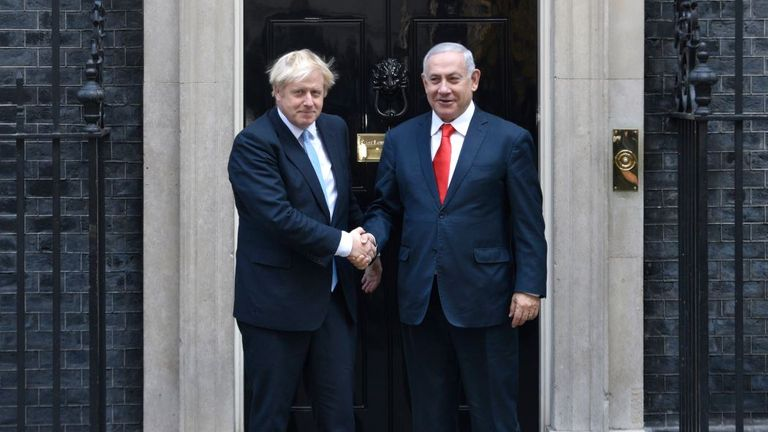 Benjamin Netanyahu: 'I met Boris Yeltsin...I mean Boris Johnson'