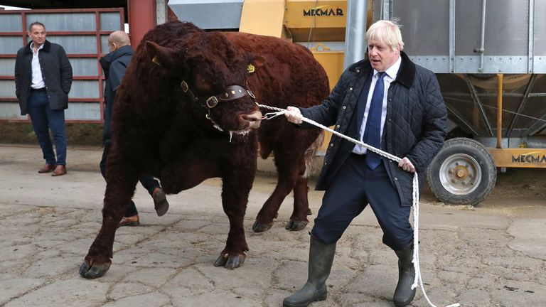 Boris Johnson in Scotland