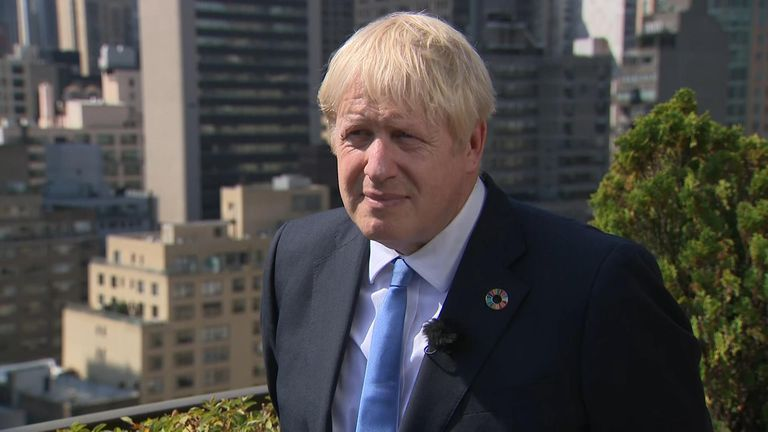 Prime minister Boris Johnson has refused to clarify his relationship with Jennifer Arcuri during his time as Mayor of London