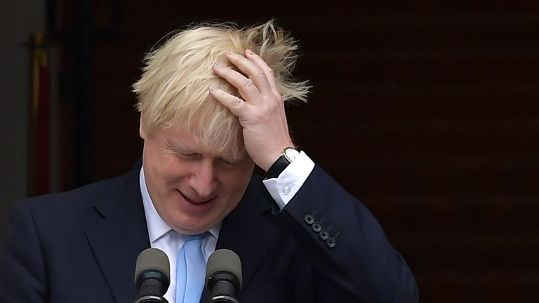 Boris Johnson has said he would rather 'die in a ditch' that ask the EU for an extension