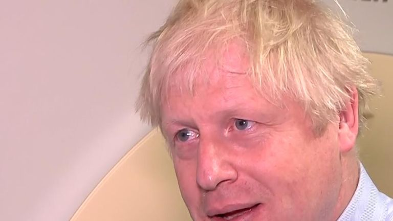 Boris Johnson defends his use of the term 'surrender'