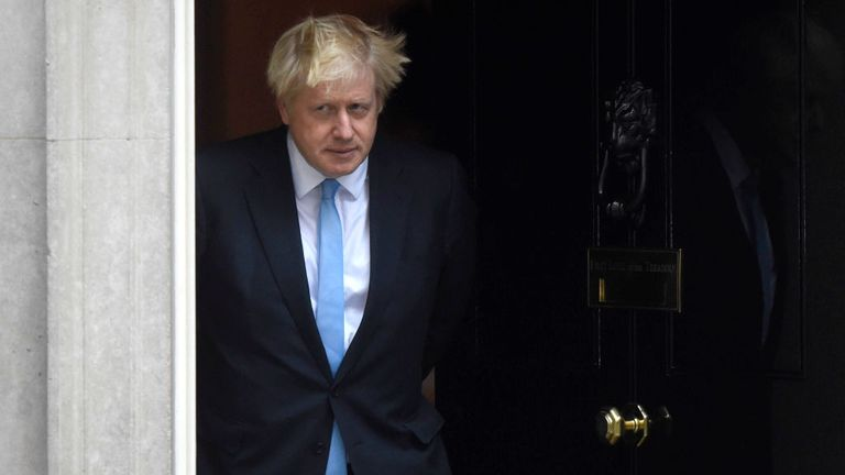 Boris Johnson, who hasn't been in Number 10 for very long, could be on his way out