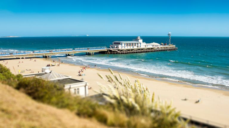 Bournemouth was among the seaside towns surveyed