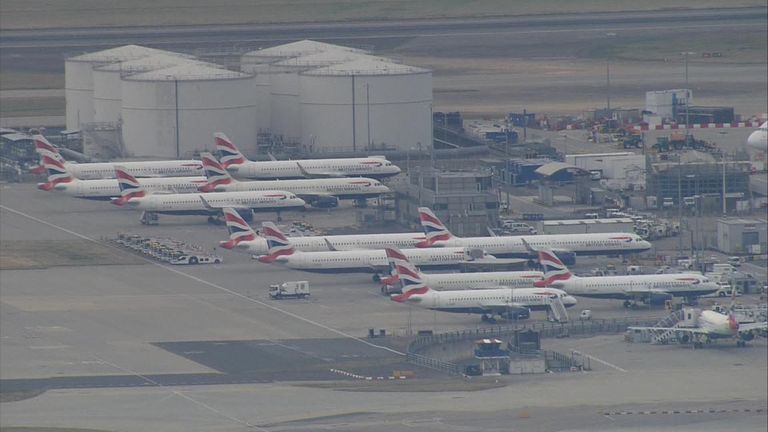 Members of the Balpa union are taking their first ever industrial action against BA