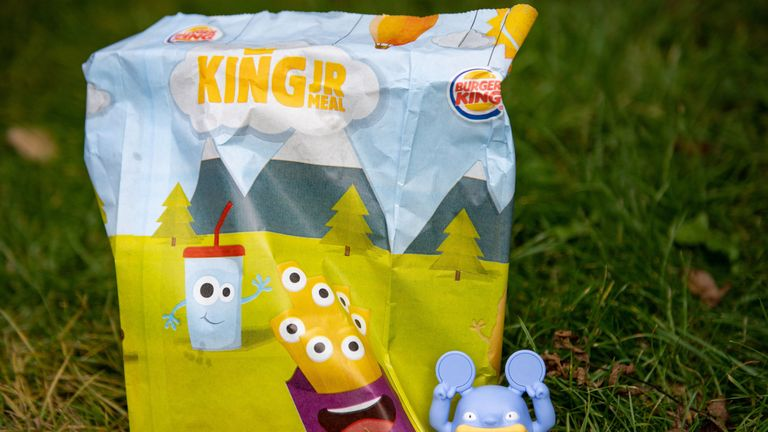 Burger King says removing the toys will save an estimated 320 tonnes of waste each year