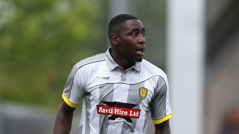 Kelvin Maynard played for Burton Albion in 2014