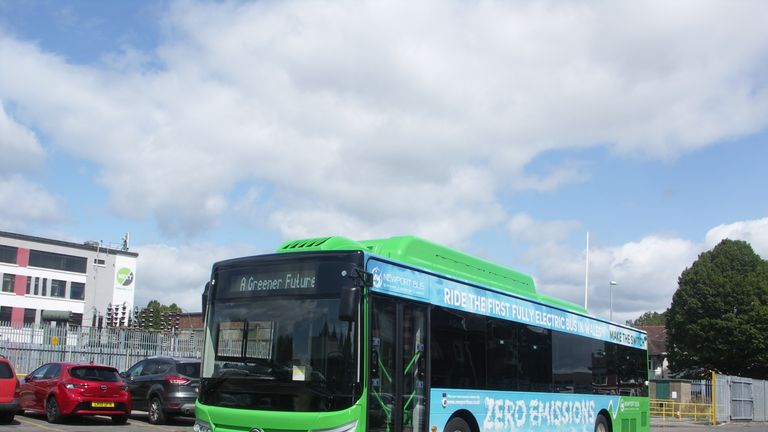 All new buses will be ultra-low or zero emission models from 2025 under the scheme. Pic: CPT