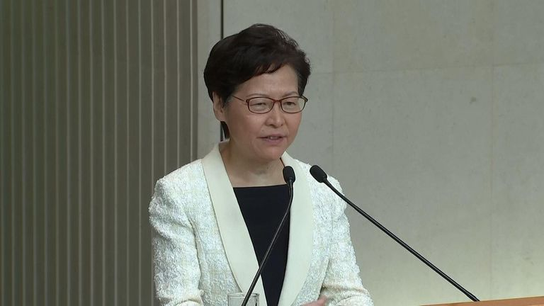 Carrie Lam still