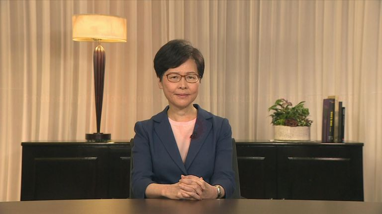 Hong Kong's leader, Carrie Lam, has announced she will formally withdraw the extradition bill that has sparked months of protests in the region.