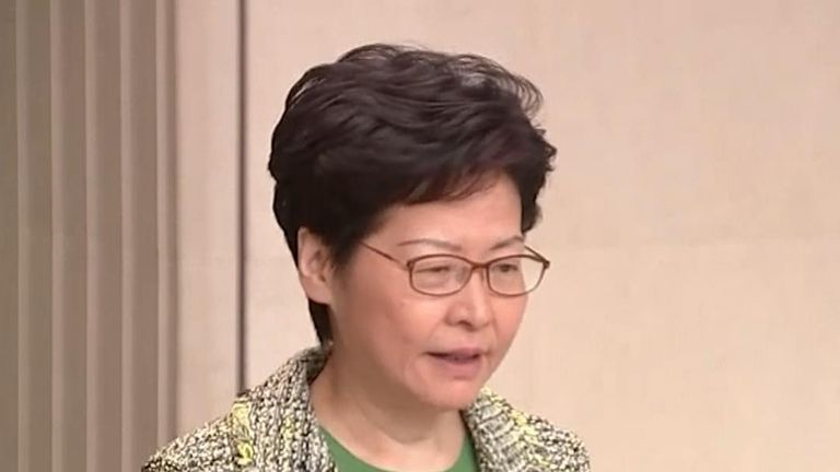 Carrie Lam thinks scheduled town hall meetings are 'a step forward'