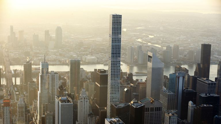 Central Park Tower will overtake 432 Park Avenue as the tallest residential building in the world