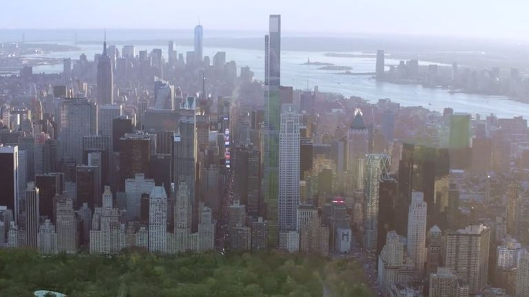 Central Park Tower will be the tallest mostly residential building in the world