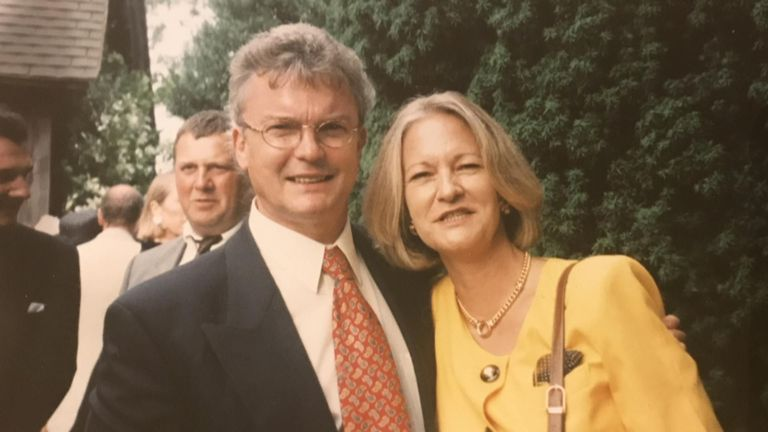 Sally Challen and her husband