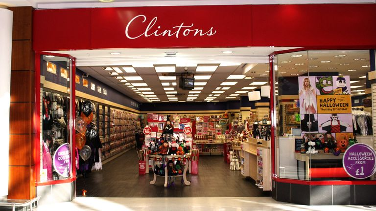 Clintons is Britain's second-biggest standalone greeting cards chain