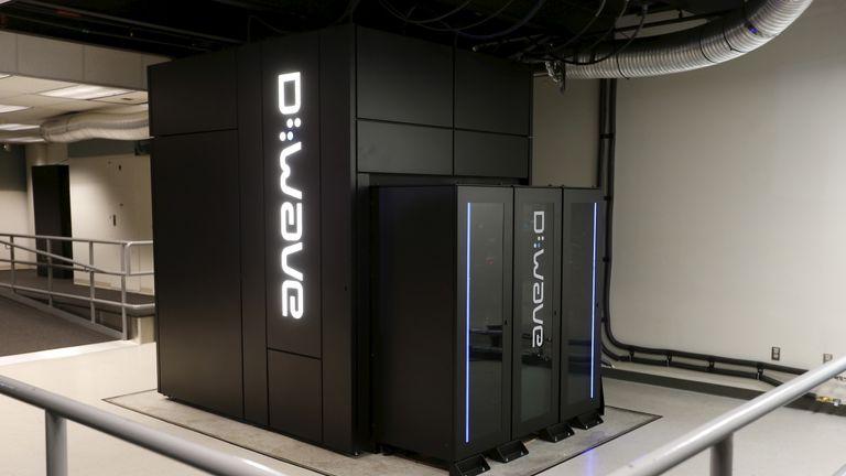 A D-Wave 2X quantum computer