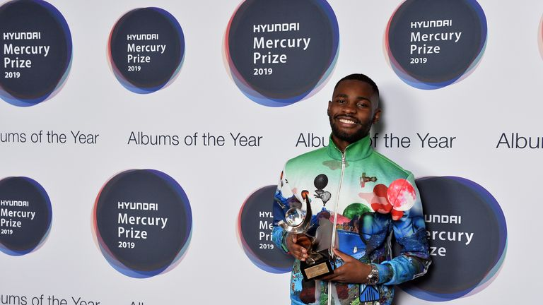 Mercury Prize judges called Dave's album 'the musical equivalent of a literary masterpiece'