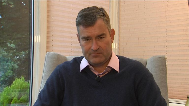 Former Conservative MP David Gauke talks to Sophy Ridge
