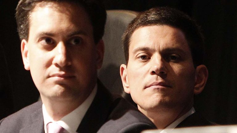 David Miliband's leadership hopes were derailed when his younger brother joined the race