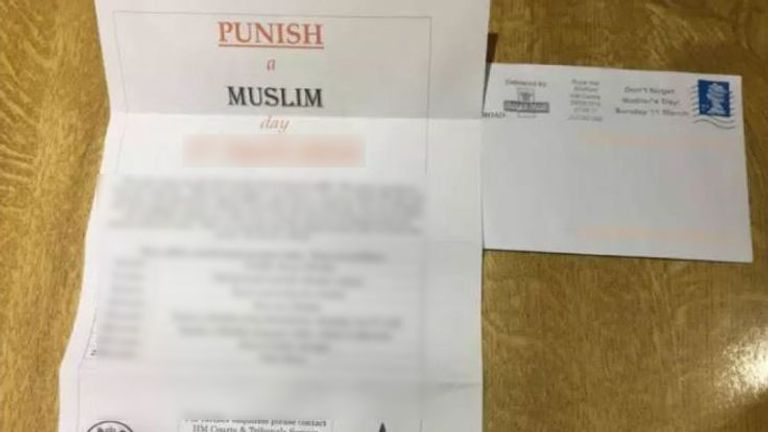 Parnham caused widespread panic with his 'Punish A Muslim Day' hate campaign.