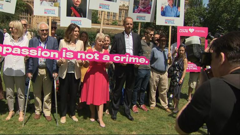 There is a large campaign to make it legal in the UK