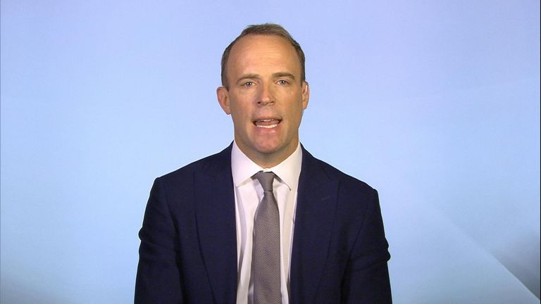 Dominic Raab still