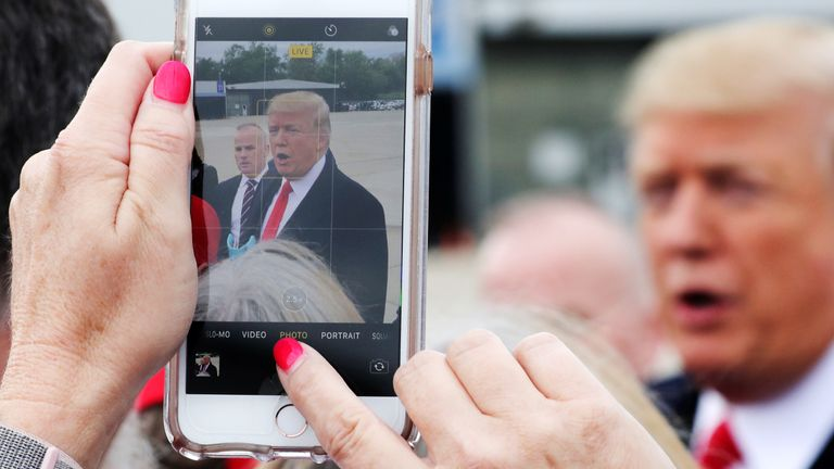 Donald Trump reportedly wants supporters to be able to better connect with him via their smartphones