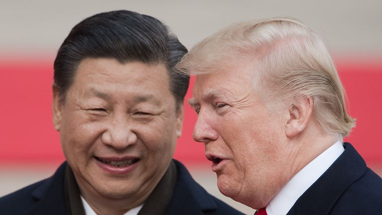 The governments of Donald Trump and Xi Jingping have been locked in a bruising trade war