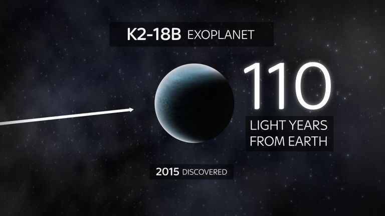 The exoplanet, which was discovered in 2015, is 110 light years from Earth