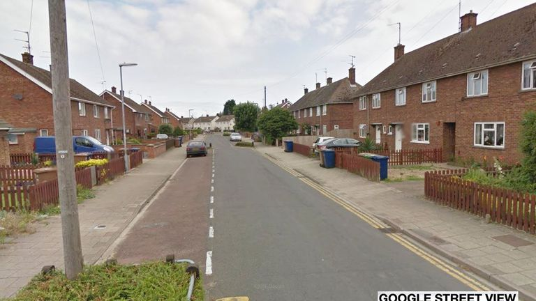 The man died from a heart attack in Edinburgh Drive, Wisbech